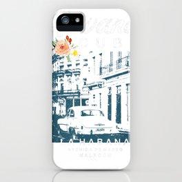 Havana Cuba La Habana Travel Vintage Cuban T Shirt iPhone Case