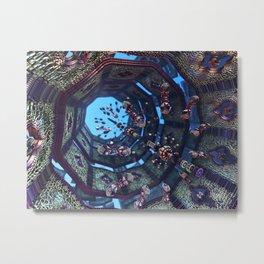 arabic fractal Metal Print