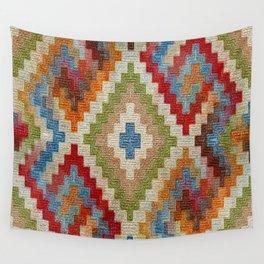kilim rug pattern Wall Tapestry