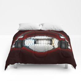 Headphone disco ball Comforters