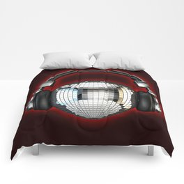 Headphone disco ball Comforters