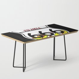 Highway To Hell Coffee Table