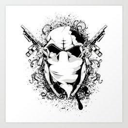 Gun Fighter Art Print