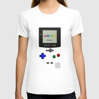 gameboy T-shirts featuring GAMEBOY COLOR by Smart Friend