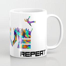 Eat Sleep RAVE Repeat Coffee Mug
