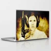 leia Laptop & iPad Skins featuring Vintage Leia by Freak Shop | Freak Products