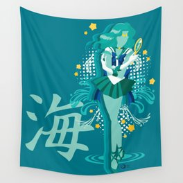 Soldier of the Sea & Embrace Wall Tapestry