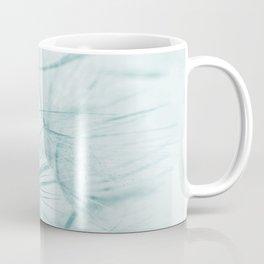 Dandelion In Blue Coffee Mug