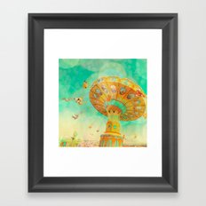 Dizzy Framed Art Print