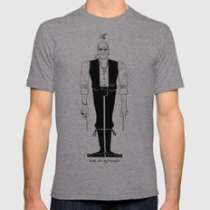 Mick was NOT amused (#1). Mens Fitted Tee X-LARGE Tri-Grey