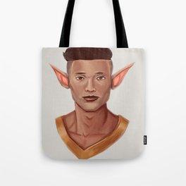 Chad, the Karate Elf Tote Bag