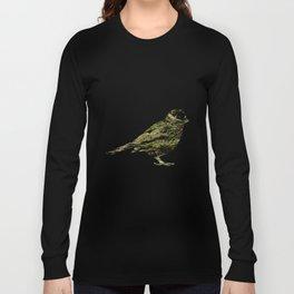 olive tree sparrow Long Sleeve T-shirt