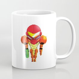 Samus Halftone Coffee Mug