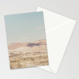 red rock canyon in California ... Stationery Cards
