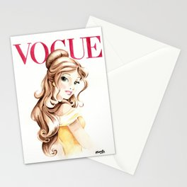 Belle. Vogue Magazine Cover. Stationery Cards