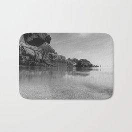 Solitude on Pedn Vounder Beach Bath Mat
