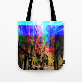 By a simple procedural technique amplified result. Tote Bag