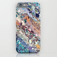 Colorful Chaotic Abstract iPhone 6 Slim Case