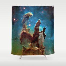 Eagle Nebula's Pillars Shower Curtain