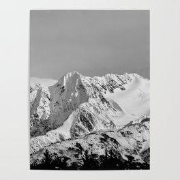 Mountain Glacier Two Poster