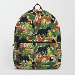 Jungle Pattern Backpack