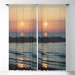 Sunset Ocean Bliss #1 #nature #art #society6 Blackout Curtain