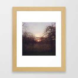 Introvert Framed Art Print