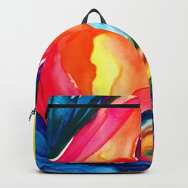 Soul Flower No.6 by Kathy Morton Stanion Backpack