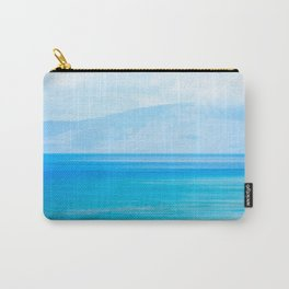 Blue Afternoon Carry-All Pouch