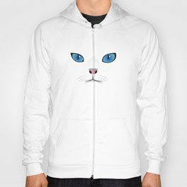 Little white cat Hoody