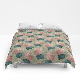 Redoute Hydrangea Comforters