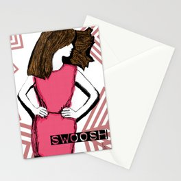 Swoosh... Stationery Cards