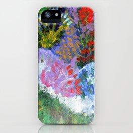 Garden of Joy/ Lady Wisdom Speaks! iPhone Case