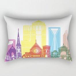 Charlotte V2 skyline pop Rectangular Pillow