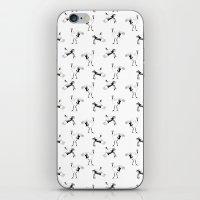 crane iPhone & iPod Skins featuring Crane by Jiaxi Huang