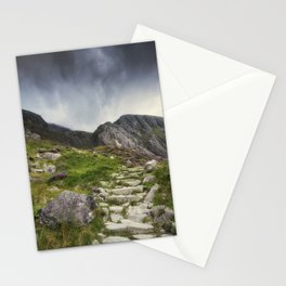 Mountain Path Stationery Cards