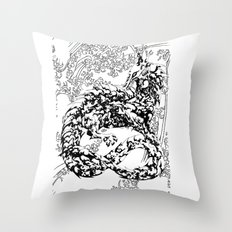 A Dragon from your Subconscious Mind #2 Throw Pillow