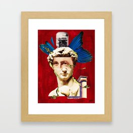 The Enlightened Hedonist Framed Art Print