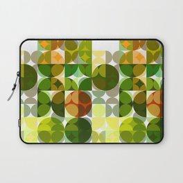 Cactus Garden Abstract Circles 3 Laptop Sleeve