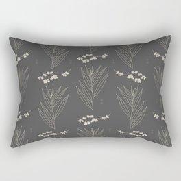 Grey Willow Rectangular Pillow