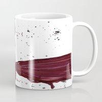 in the flesh Mugs featuring Flesh Tear by Daniella Walker