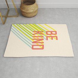 Be Kind typography Rug