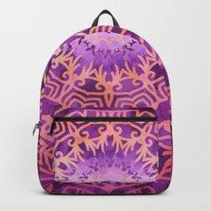 Mandala Pink Night Backpacks