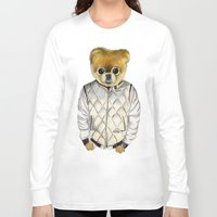 ryan gosling Long Sleeve T-shirts featuring Ryan Boo'sling by Uncultured Pixel