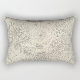 Artic Map / 1780 Rectangular Pillow