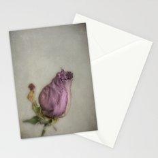 Single Dry Rose Stationery Cards