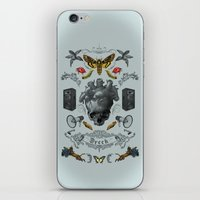 rorschach iPhone & iPod Skins featuring Rorschach by Dreck Design