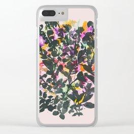 Wilde Jasmine #2 Clear iPhone Case