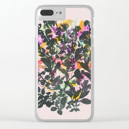 Wilde Jasmine #2 Clear iPhone Case