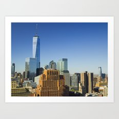 World Trade Center Freedom Tower NYC Art Print